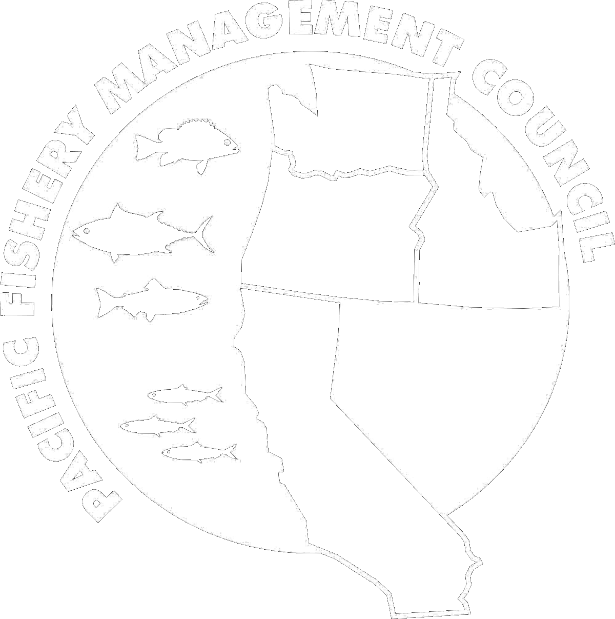 Pacific Fishery Management Council logo