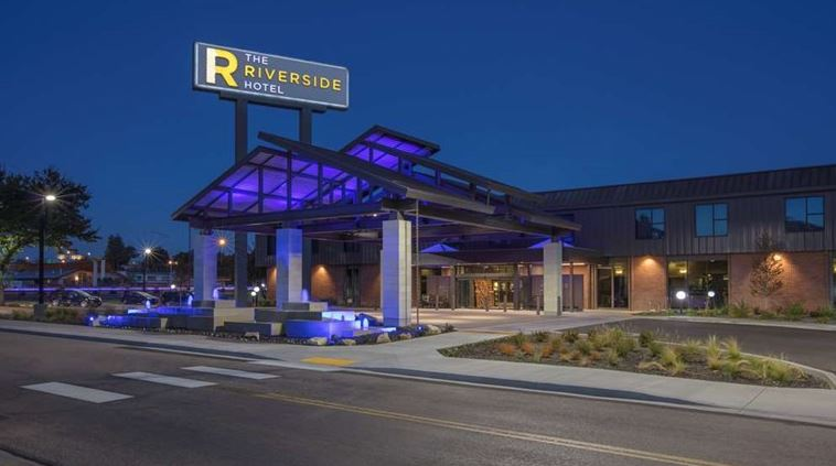 Riveside Hotel, Boise ID