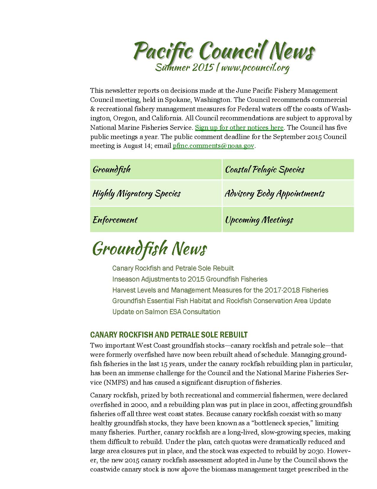 Summer 2015 newsletter jpg